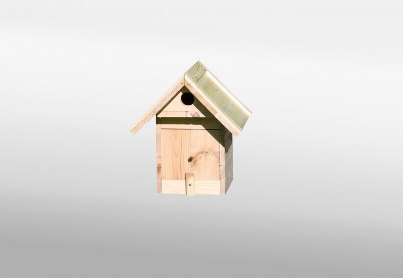 Nistkasten Vogelhaus Piepmatz Promex Kiefernholz natur