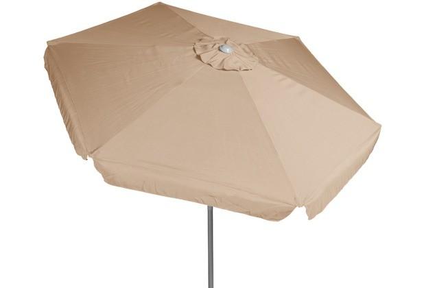 Sonnenschirm Gartenschirm Merxx Ø 180 cm beige