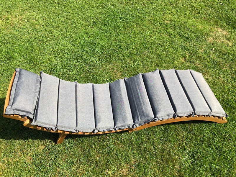 Ipanema Gartenliege Sonnenliege Merxx Akazienholz inklusive Polster