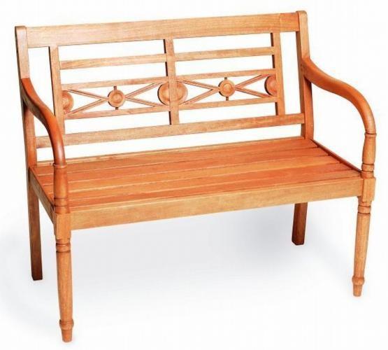 Gartenbank Havanna Merxx 2-Sitzer Eukalyptusholz